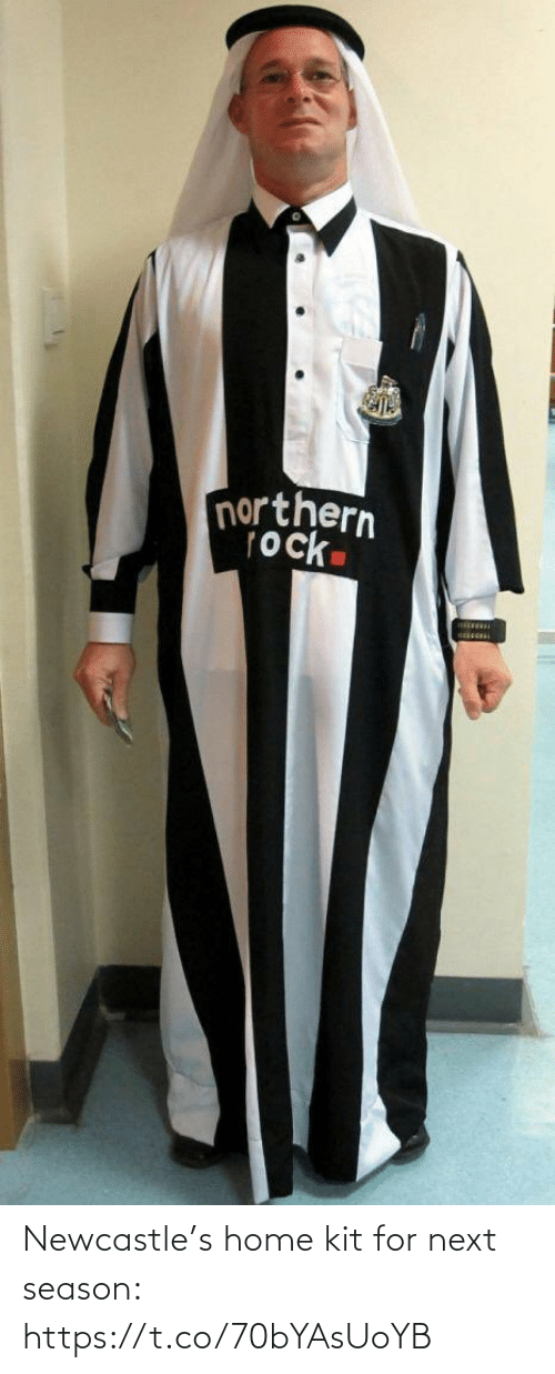 soccer: Newcastle's home kit for next season: https://t.co/70bYAsUoYB