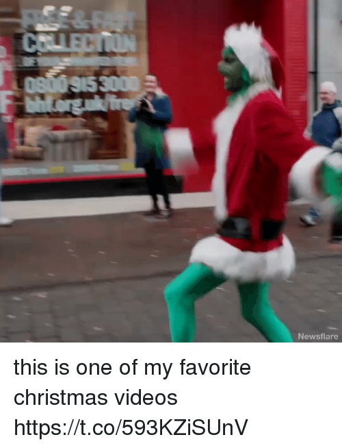 Christmas, Videos, and Girl Memes: Newsflare this is one of my favorite christmas videos https://t.co/593KZiSUnV