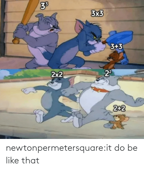 tumblr: newtonpermetersquare:it do be like that