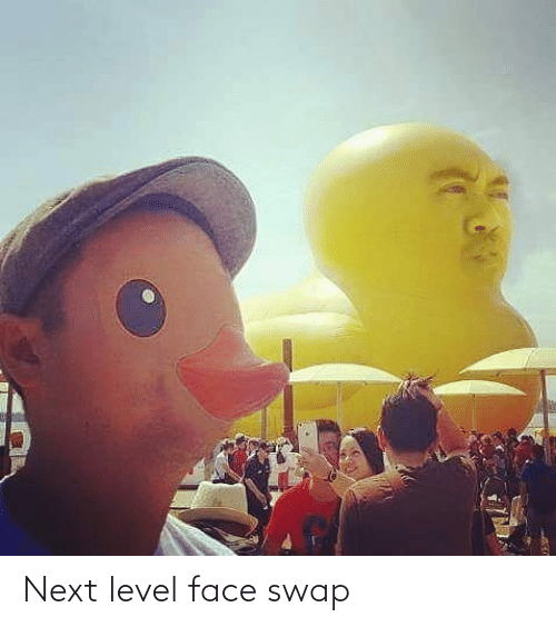 level: Next level face swap
