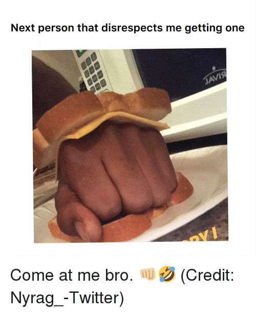 Onee: Next person that disrespects me getting onee Come at me bro. 👊🏼🤣 (Credit: Nyrag_-Twitter)