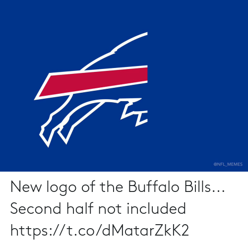 Bills: @NFL_MEMES New logo of the Buffalo Bills...  Second half not included https://t.co/dMatarZkK2
