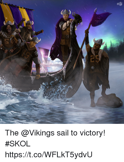 Memes, Nfl, and Vikings: NFL The @Vikings sail to victory! #SKOL https://t.co/WFLkT5ydvU