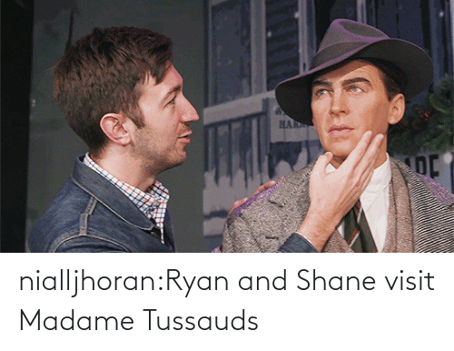 ryan: nialljhoran:Ryan and Shane visit Madame Tussauds