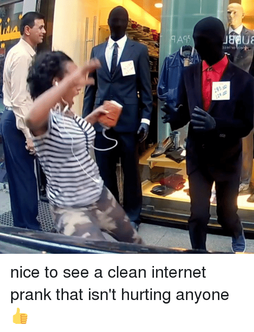 Internet, Memes, and Prank: nice to see a clean internet prank that isn't hurting anyone 👍