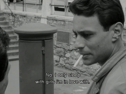 Girls, Love, and Sleep: No.  I only sleep  with girls I'tm in  in love with.