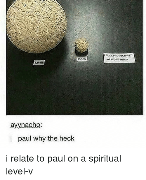 spiritualized: NOON  ayynacho:  paul why the heck i relate to paul on a spiritual level-v