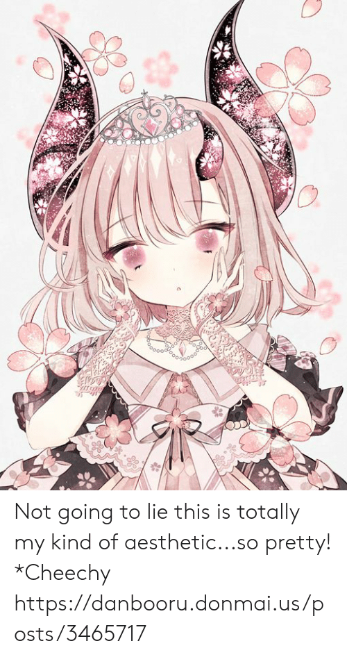 Donmai: Not going to lie this is totally my kind of aesthetic...so pretty! *Cheechy https://danbooru.donmai.us/posts/3465717