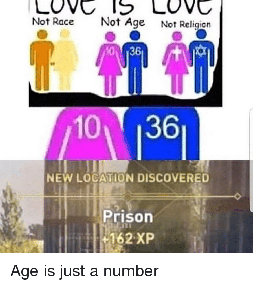 Prison, Dank Memes, and Race: Not Race  Not Age  Not Religion  10 136  NEW LOCATION DISCOVERE  Prison  162 XP Age is just a number