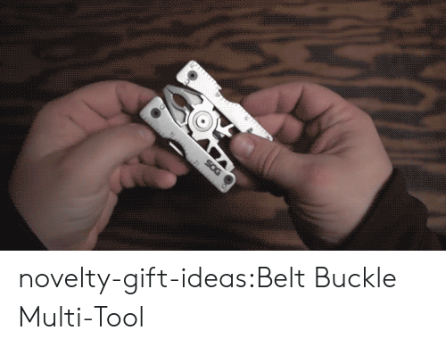 Tumblr, Blog, and Buckle: novelty-gift-ideas:Belt Buckle Multi-Tool