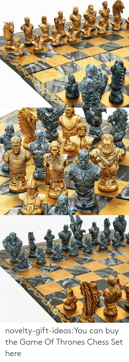 set: novelty-gift-ideas:You can buy the   Game Of Thrones Chess Set here