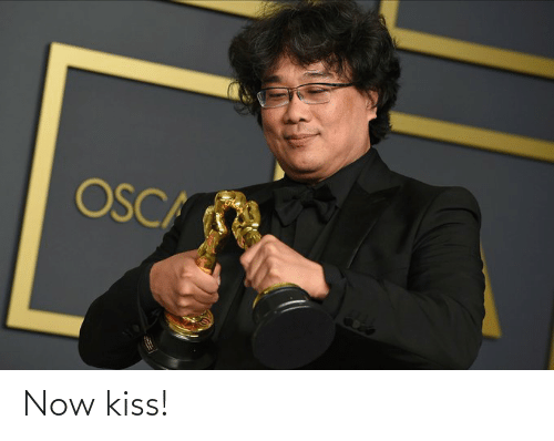 now kiss: Now kiss!