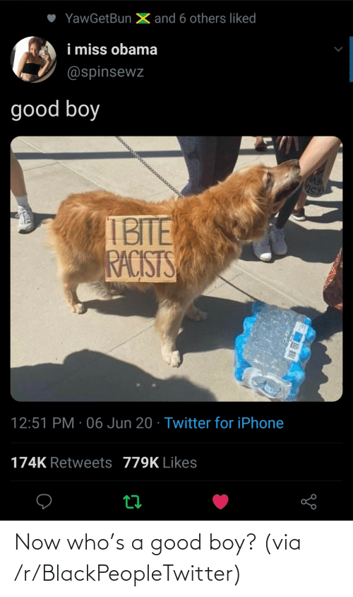 blackpeopletwitter: Now who's a good boy? (via /r/BlackPeopleTwitter)