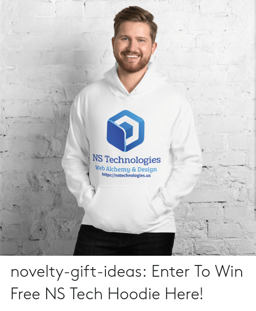 Swag, Tumblr, and Blog: NS Technologies  Web Alchemy & Design  http://nstechnologies.us novelty-gift-ideas:  Enter To Win Free NS Tech Hoodie Here!