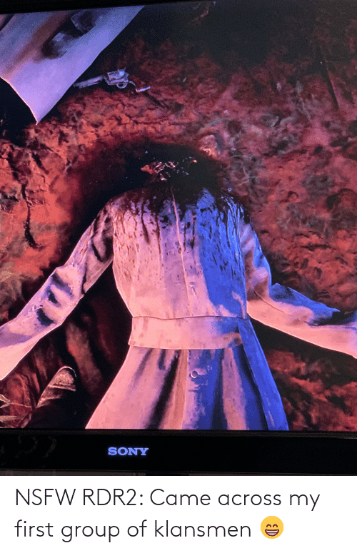 Rdr2: NSFW RDR2: Came across my first group of klansmen 😁