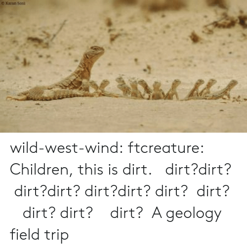 Field Trip: O Xaran So wild-west-wind:  ftcreature:  Children, this is dirt.   dirt?dirt?  dirt?dirt? dirt?dirt? dirt?  dirt?    dirt? dirt?    dirt?    A geology field trip