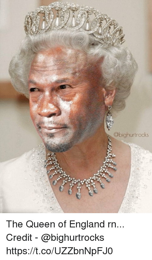 the queen of england: Obighurtrocks The Queen of England rn...  Credit - @bighurtrocks https://t.co/UZZbnNpFJ0