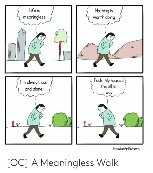 meaningless: [OC] A Meaningless Walk