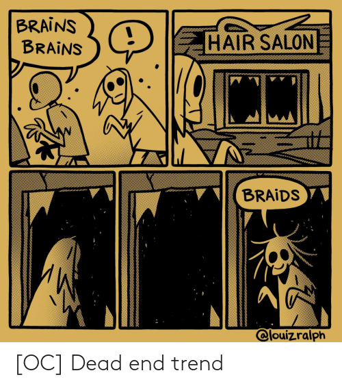 Trend: [OC] Dead end trend
