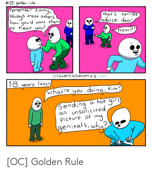 Rule: [OC] Golden Rule
