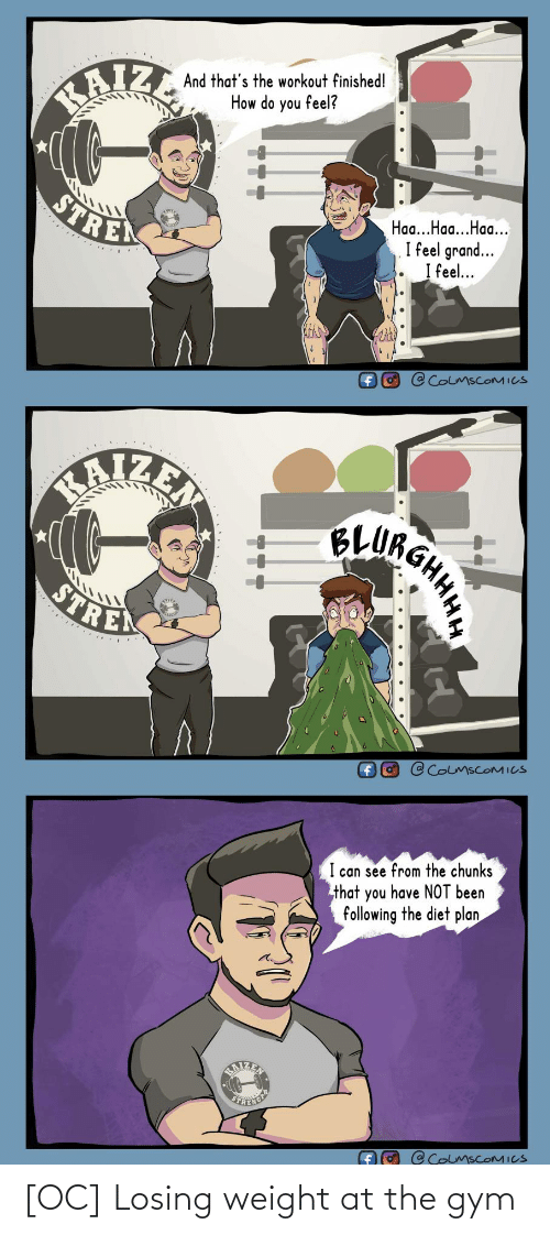 Weight: [OC] Losing weight at the gym
