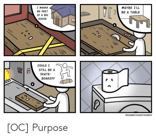 purpose: [OC] Purpose