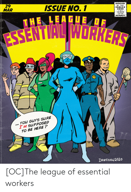 Workers: [OC]The league of essential workers