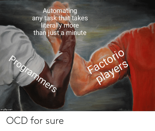 For Sure: OCD for sure