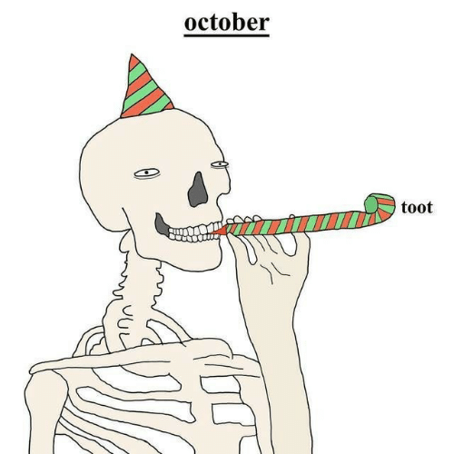 October and Toot: october  toot  60