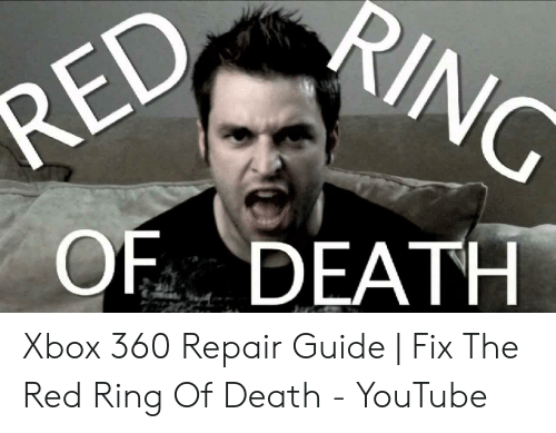 Array - of death xbox 360 repair guide   fix the red ring of death      rh   awwmemes com