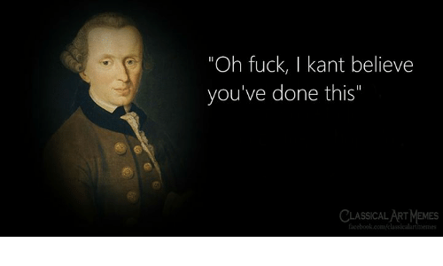 "Classical: ""Oh fuck, I kant believe  you've done this""  CLASSICAL ART MEMES  facebook.com/classicalartimemes"