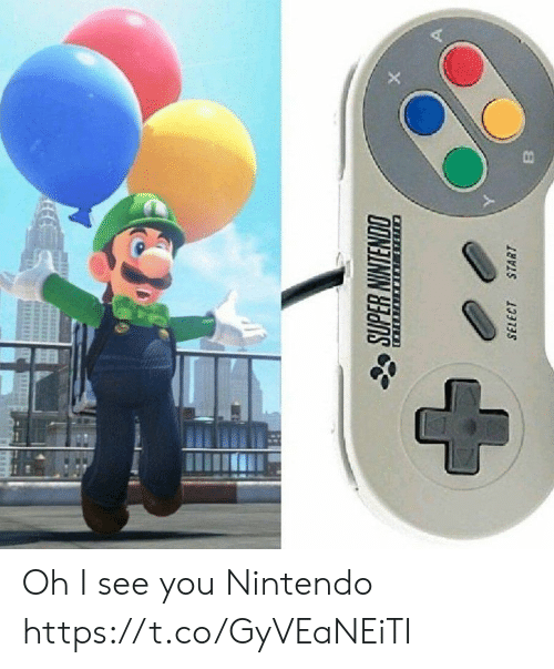 Nintendo, You, and I See You: Oh I see you Nintendo https://t.co/GyVEaNEiTI