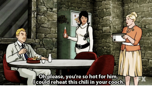 Youre So Hot: oh please, you're so hot for him  heat this chili in your cooch