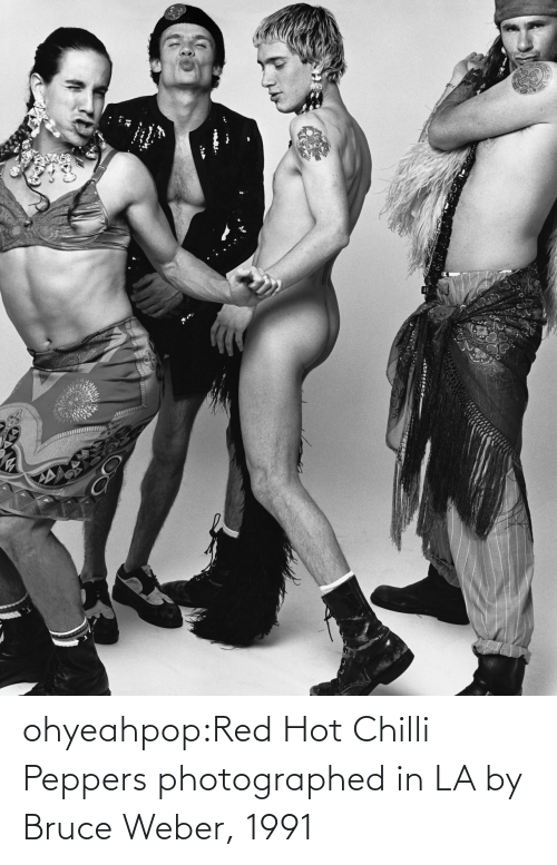 peppers: ohyeahpop:Red Hot Chilli Peppers photographed in LA by Bruce Weber, 1991
