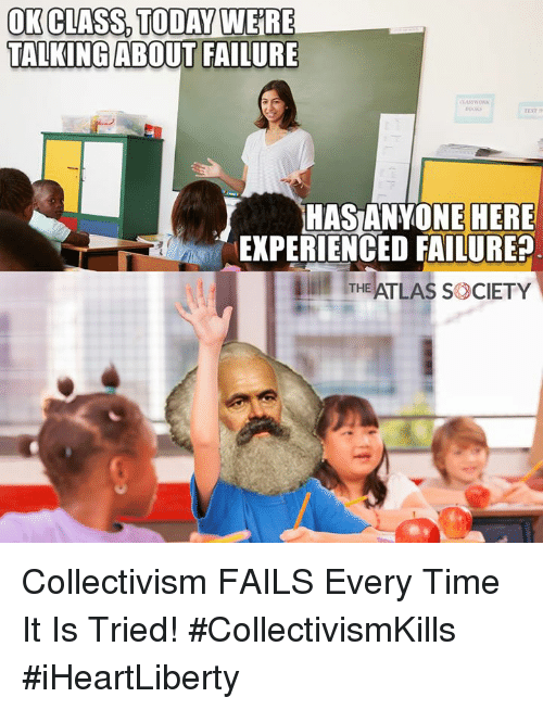 Ok Class Todayweire Talking About Failure Hasanyone Here Experienced