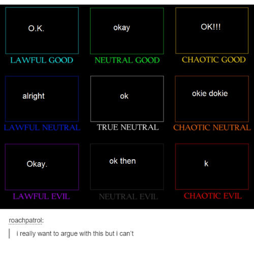 Chaotic Good