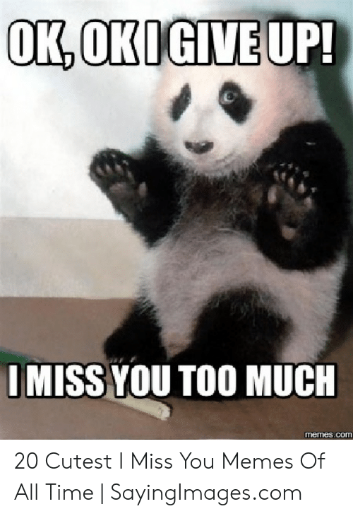 I Ll Miss You Says No One Misc Quickmeme