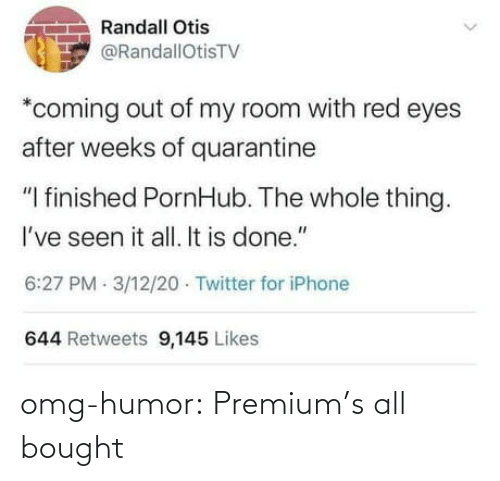 premium: omg-humor:  Premium's all bought