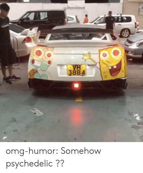 psychedelic: omg-humor:  Somehow psychedelic ??
