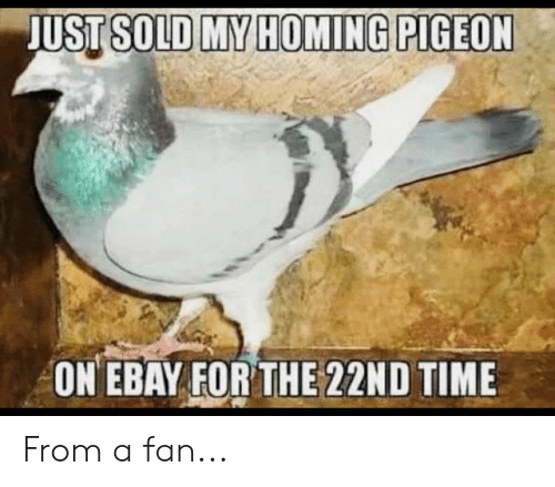 eBay, Memes, and Time: ON EBAY FOR THE 22ND TIME From a fan...