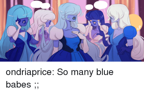 Target, Tumblr, and Babes: ondriaprice:  So many blue babes ;;