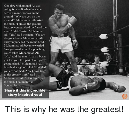 """muhammad ali the man the myth and The cleveland summit and muhammad ali: the true story  mcclinton said he told ali, """"hey, man, all you'd do is get a uniform and you'd be boxing at all the bases around the country."""