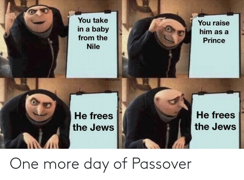 One More: One more day of Passover