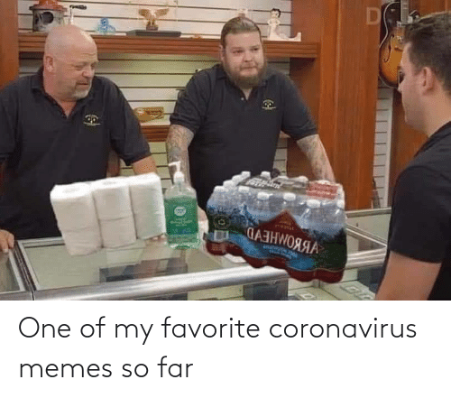 Coronavirus: One of my favorite coronavirus memes so far
