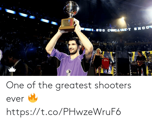 greatest: One of the greatest shooters ever 🔥 https://t.co/PHwzeWruF6