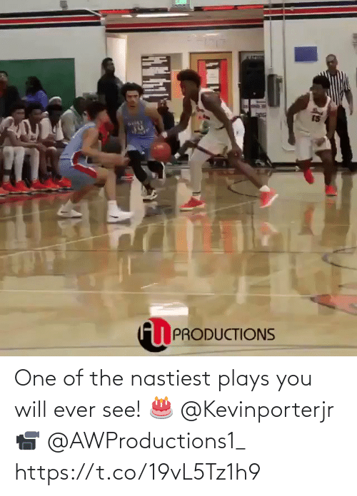 Plays: One of the nastiest plays you will ever see!   🎂 @Kevinporterjr 📹 @AWProductions1_  https://t.co/19vL5Tz1h9