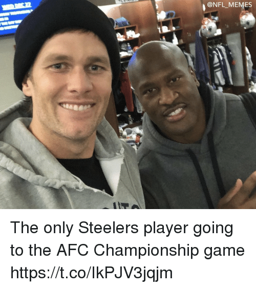 Afc Championship: ONFL MEMES The only Steelers player going to the AFC Championship game https://t.co/IkPJV3jqjm