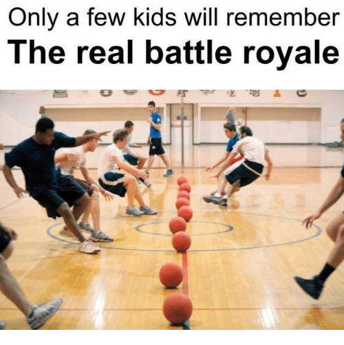 Kids, The Real, and Battle Royale: Only a few kids will remember  The real battle royale