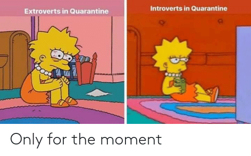The Moment: Only for the moment
