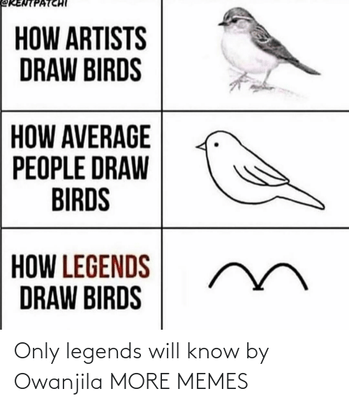 Today: Only legends will know by Owanjila MORE MEMES